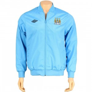 Umbro Manchester City FC Home Anthem Jacket (vista blue)