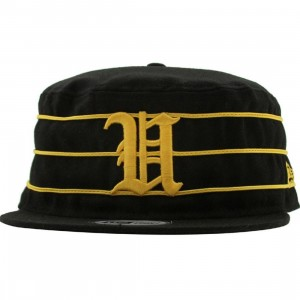 Undefeated Tiger U Pillbox New Era Fitted Cap (black)