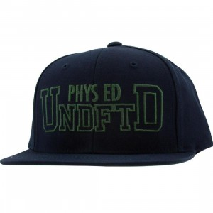 Undefeated Phys Ed Starter Snapback Cap (navy)