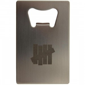 Undefeated 5 Strike Bottle Opener (silver)