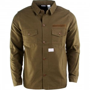 Undefeated Conflict BDU Long Sleeve Shirt (olive)