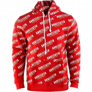 Undefeated Fanatic Hoody (red)