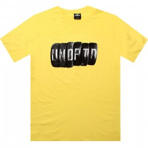 Undefeated Tires Tee (yellow)
