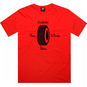 Undefeated Tire Store Tee (red)