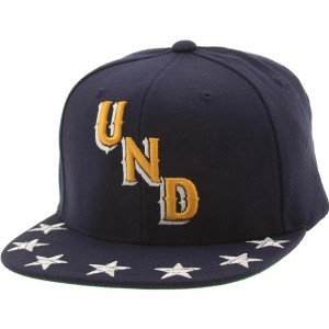 Undefeated Star Snapback Cap (navy)