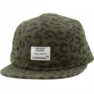 Undefeated Combat Camo Adjustable Cap (olive camo)