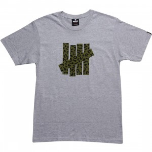Undefeated Combat Strikes Tee (grey heather)