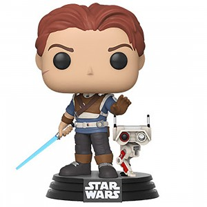 PREORDER - Funko POP Games Star Wars Jedi Fallen Order Cal Kestis With BD-1 (tan)