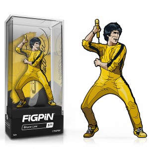 PREORDER - FiGPiN Bruce Lee Yellow Jumpsuit #371 (yellow)