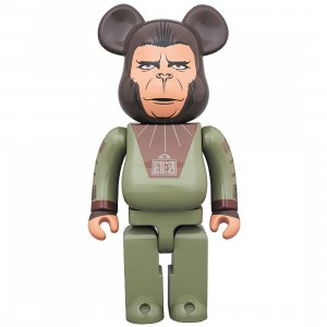 PREORDER - Medicom Planet Of The Apes Cornelius 400% Bearbrick Figure (green)