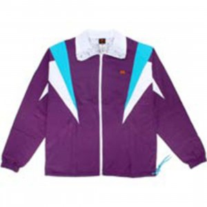 Under Crown Reversible Windycity Breaker Jacket (purple / white)