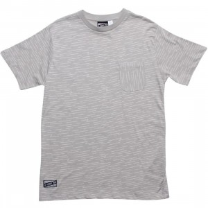 Us Versus Them Sideways Tee (grey)