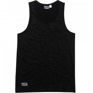 Us Versus Them Sideways Tank Top (black)