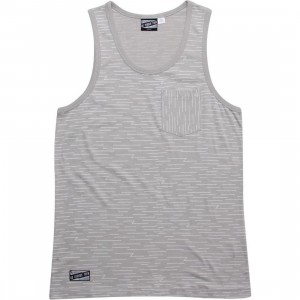 Us Versus Them Sideways Tank Top (grey)
