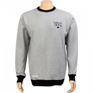 Us Versus Them Paloma Crew Sweater (heather grey)