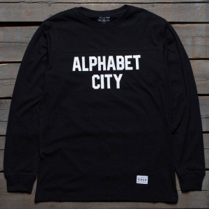 Acapulco Gold Men Alphabet City Long Sleeve Tee (black)