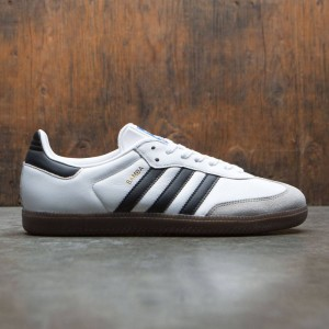 Adidas Men Samba OG (white / core black / clear granite)