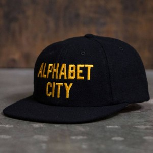 Acapulco Gold Alphabet City 6 Panel Cap (black)
