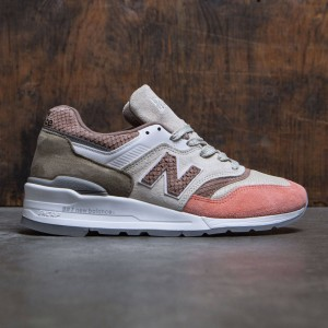 New Balance Men 997 Desert Heat M997CSU - Made In USA (brown / bone / sunset)
