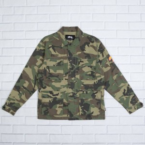 Stussy Men Letts BDU Jacket (camo)