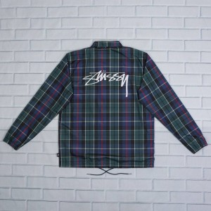 Stussy Men Cruize Coaches Jacket (navy)