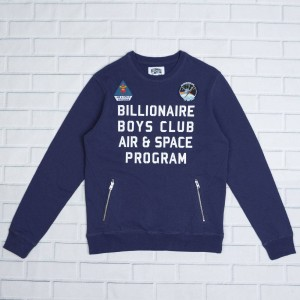 Billionaire Boys Club Men Program Crew Sweater (blue / patriot)
