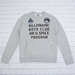 Billionaire Boys Club Men Program Crew Sweater (gray / heather)