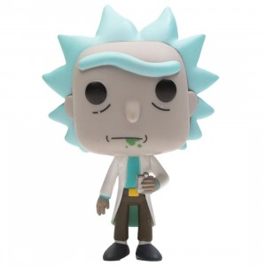 Funko POP Animation Rick And Morty - Rick (white)
