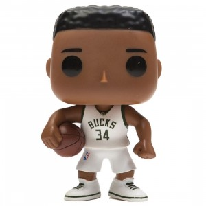 Funko POP Sports NBA Milwaukee Bucks Giannis Antetokounmpo (white)