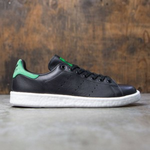 Adidas Men Stan Smith Boost (black / core black / green)