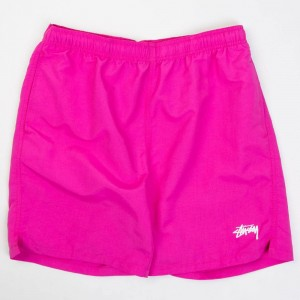 Stussy Men Stock Elastic Wasit Short II (purple / raspberry)