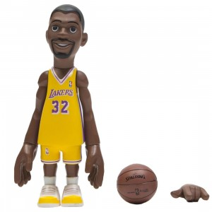 MINDstyle x Coolrain NBA Legends LA Lakers Magic Johnson Figure (yellow)
