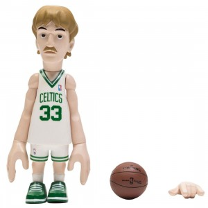 MINDstyle x Coolrain NBA Legends Boston Celtics Larry Bird Figure (white)