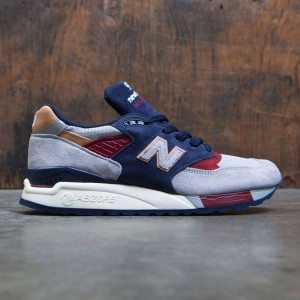 New Balance Men 998 Desert Heat M998CSU - Made In USA (gray / navy)