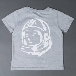 Billionaire Boys Club Youth Arch Helmet Tee (gray / heather)
