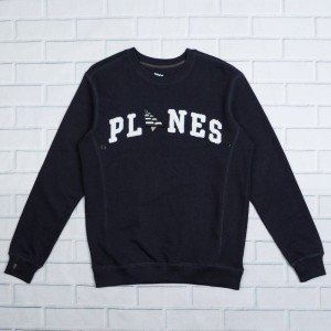 Paper Planes Men Planes Crew Sweater (navy)