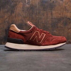 New Balance Men 995 Baseball M995DBG - Made In USA (brown / tan)