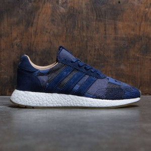 Adidas Consortium x END x Bodega Men Iniki Runner Boost Sneaker Exchange (navy / denim / gray)