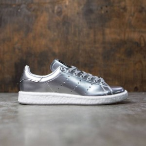 Adidas Women Stan Smith Boost W (silver / silver metallic / footwear white)