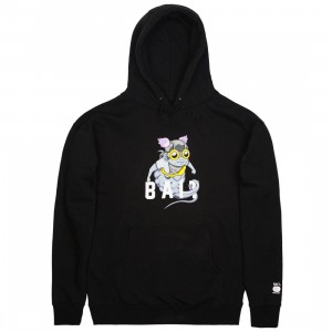 BAIT x Hebru Brantley Men Fly Girl Hoody (black)