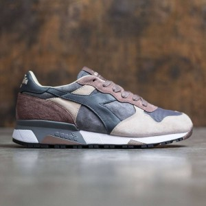 Diadora Men Trident 90 S Nyl (brown / blue / gray smoked pearl)