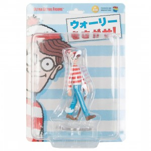 Medicom Where's Wally? UDF Wally Ultra Detail Figure (red)