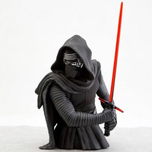 Gentle Giant Studios Star Wars EP7 The Force Awakens Kylo Ren 1:6 Scale Mini Bust (black)