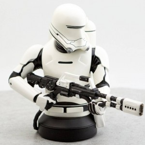 Gentle Giant Studios Star Wars EP7 The Force Awakens First Order Flametrooper 1:6 Scale Mini Bust (white)