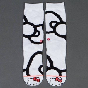 Stance x Hello Kitty Women Bows Socks (white)