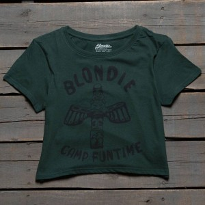 Eleven Paris x Blondie Women Camp Funtime Tee (green / sycamore)