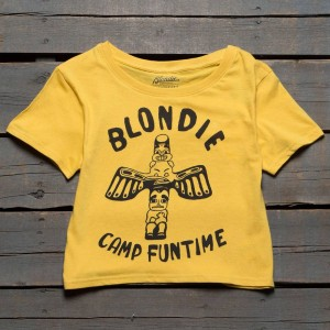 Eleven Paris x Blondie Women Camp Funtime Tee (yellow)