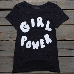 Eleven Paris x Blondie Women Girl Patch Tee (black)