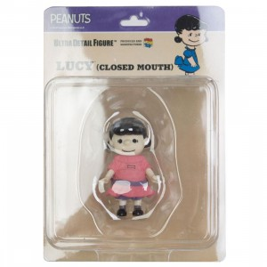 Medicom UDF Peanuts Vintage Ver. Closed Mouth Lucy Ultra Detail Figure (pink)