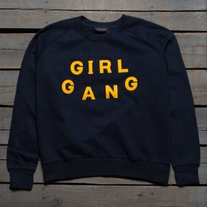 Eleven Paris x Blondie Women Girl Gang Sweater (black / iris)